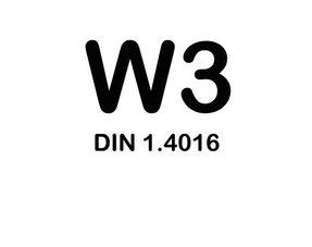 W3 Slangklemmen - RVS 430