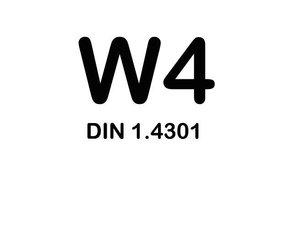 W4 Slangklemmen - RVS 304