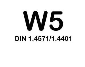 W5 Slangklemmen - RVS 316