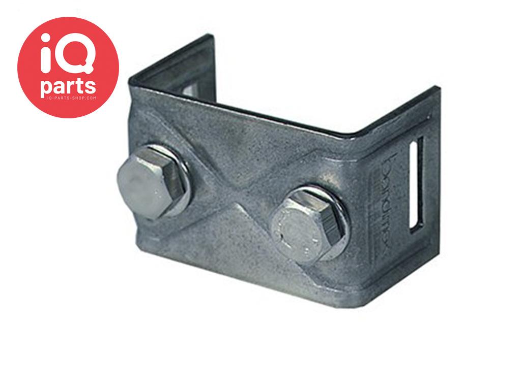 Schilderhalter mit geraden Schenkeln H008 - AISI 304