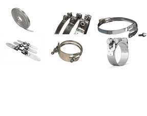 IQ-Parts Hose clamps and Hose clamp Band