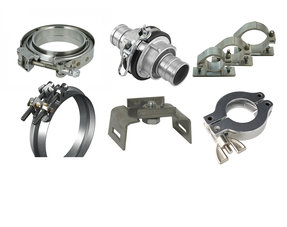 IQ-Parts Pipe Clamps and  traffic sign clamps