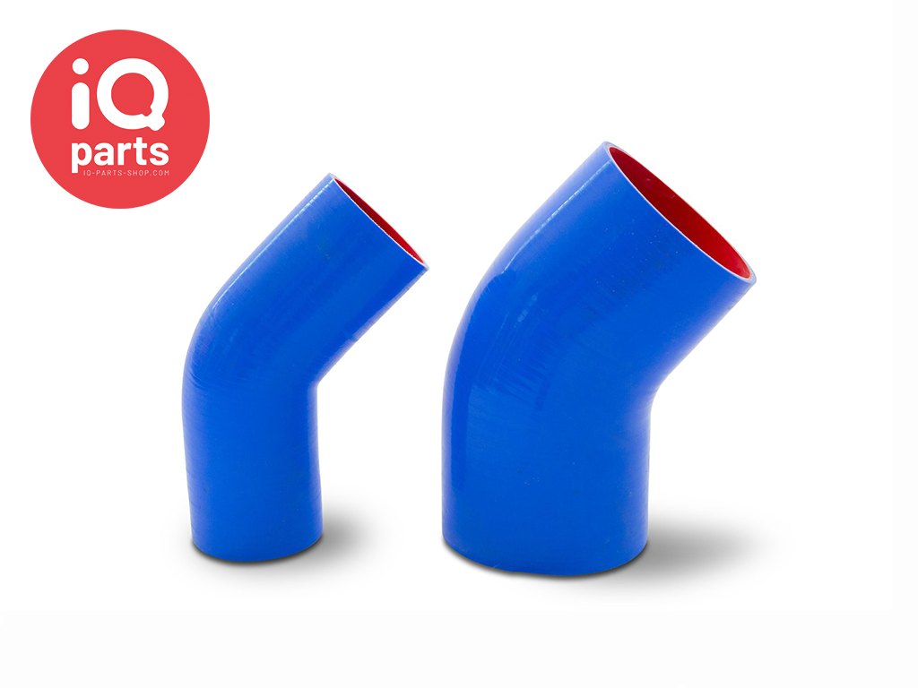 IQP Silicone Marine Exhaust Hose 45º degree Elbow