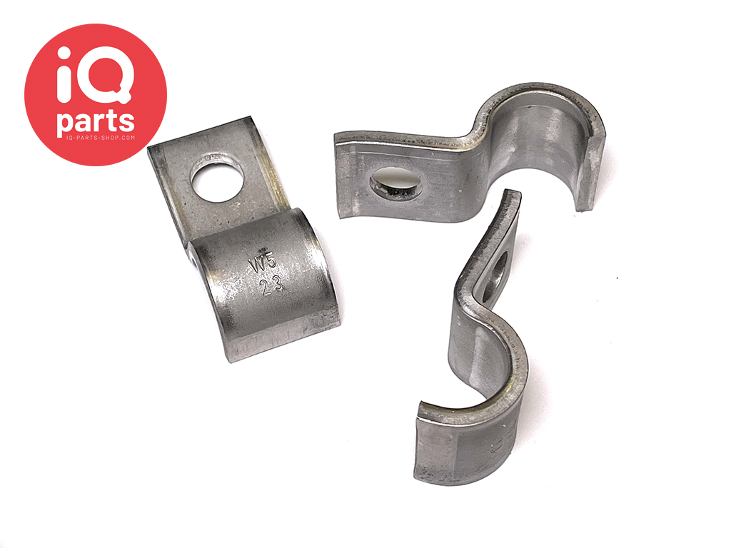 Heavy Duty pipe clips DIN 1592 - W5 (RVS 316)