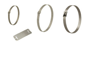 BAND-IT Stainless Steel Cable Ties