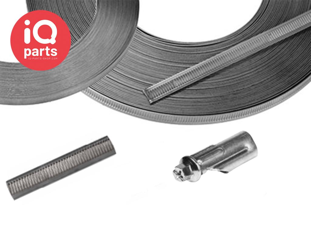 NORMETTA® 12 mm endloser Geprägtes Band | 30 Meter | W3