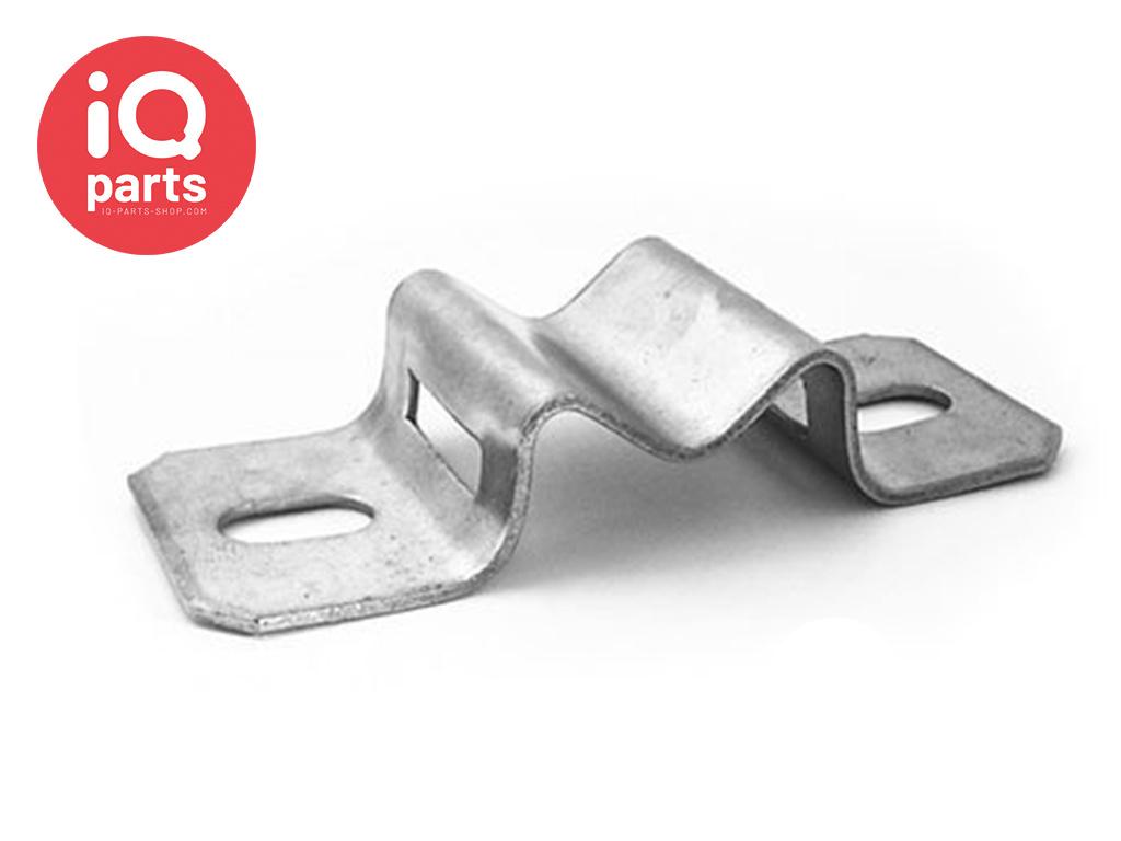 Schilderhalter mit Langlöchern H026 - AISI 304