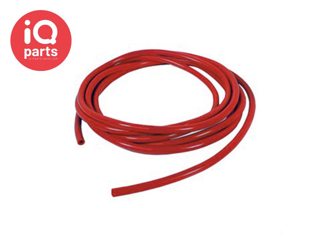Silikonen Vakuumschlauch | pro Meter | Rot