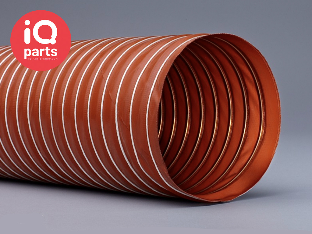 Silicone ducting 1-ply