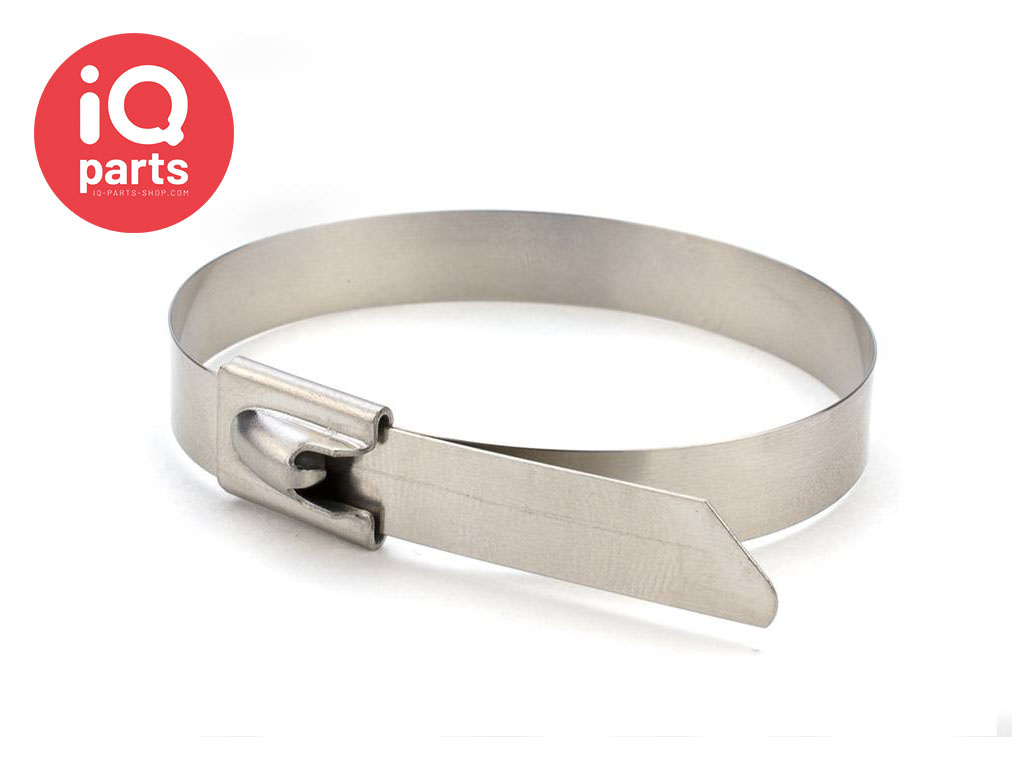 Roestvrijstalen RVS 304 ashoes / Kabelbinder | 7,94 mm breed