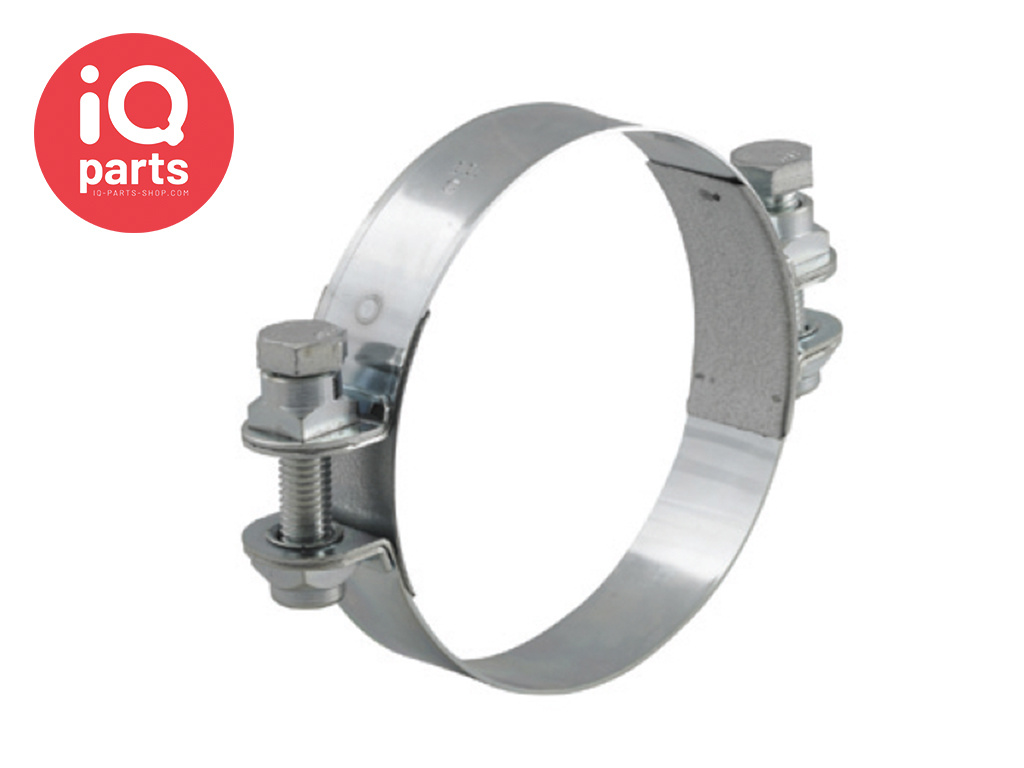 Normaclamp Type S - 25 mm DIN 3017-2 | W5 (RVS 316) | 2 bouten