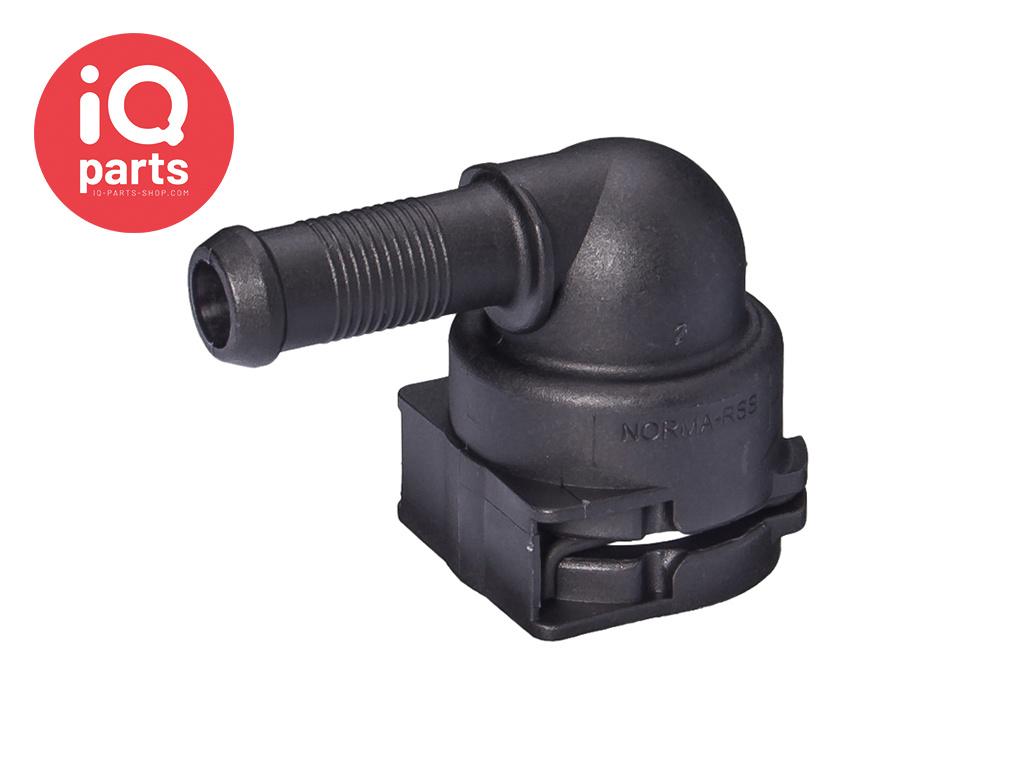 NORMAQUICK® PS3 Snelkoppeling 90° NW 12 - 10 mm