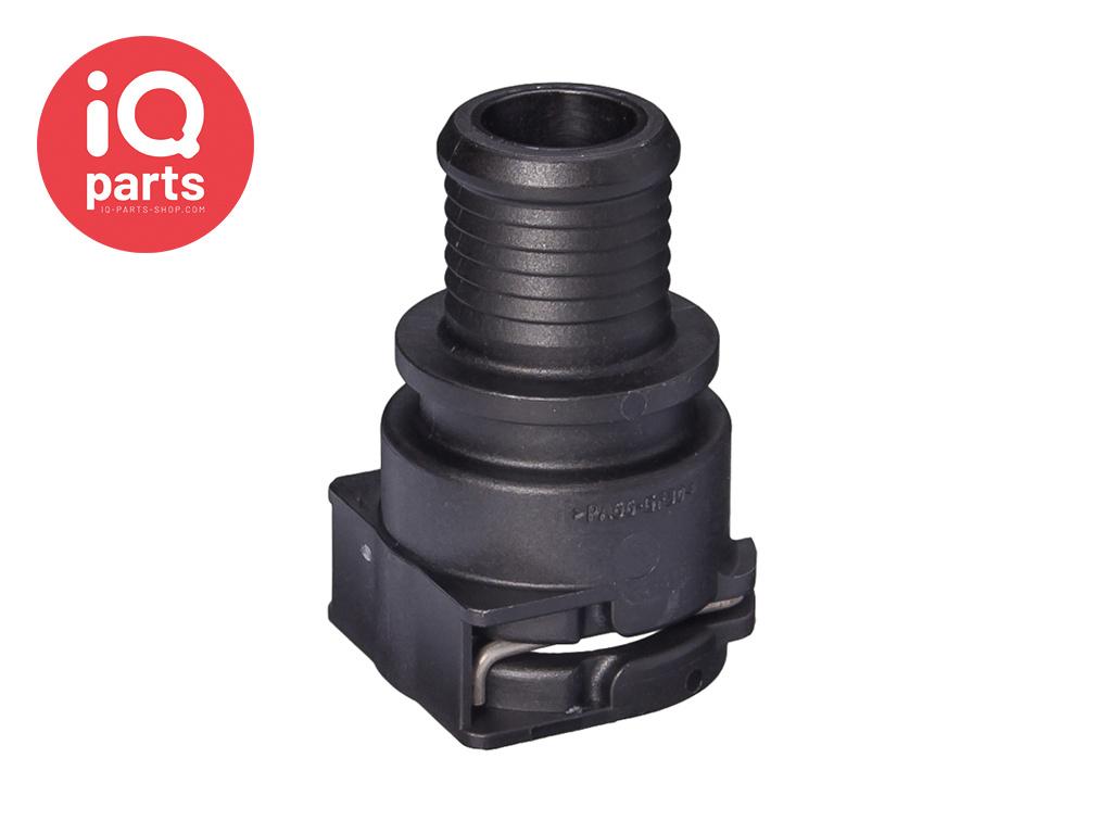 NORMAQUICK® PS3 rechte Snelkoppeling 0° NW 12 - 16,8 mm
