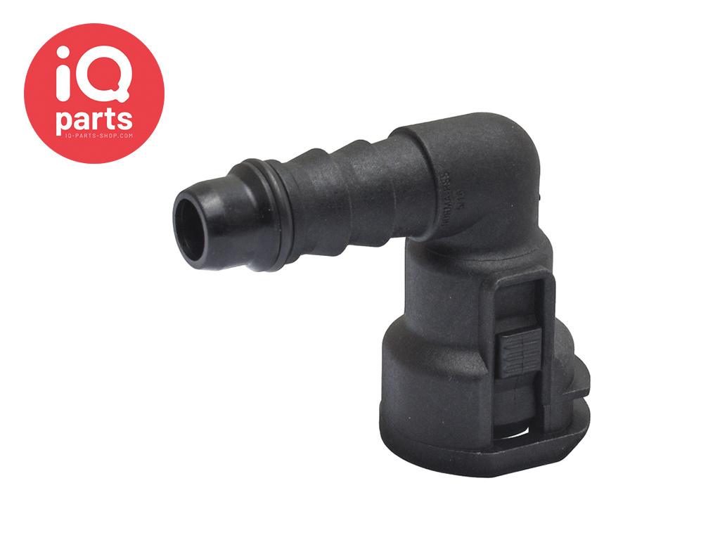 """NORMAQUICK® S Quick Connector 90° NW 5/16"""" - 7,3 mm"""