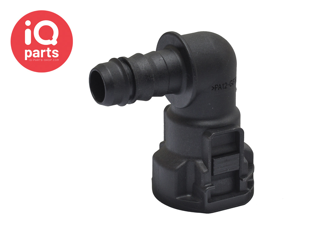 """NORMAQUICK® S Quick Connector 90° NW 1/2"""" - 10 mm"""