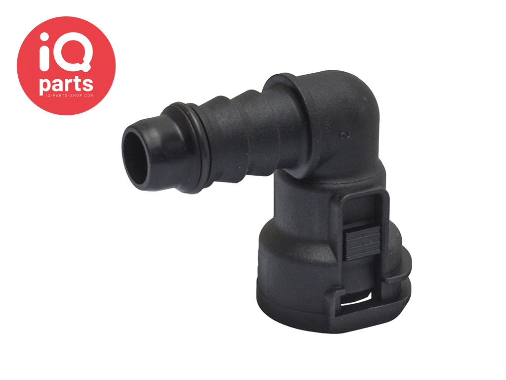 """NORMAQUICK® S Quick Connector 90° NW 3/8"""" - 8 mm"""