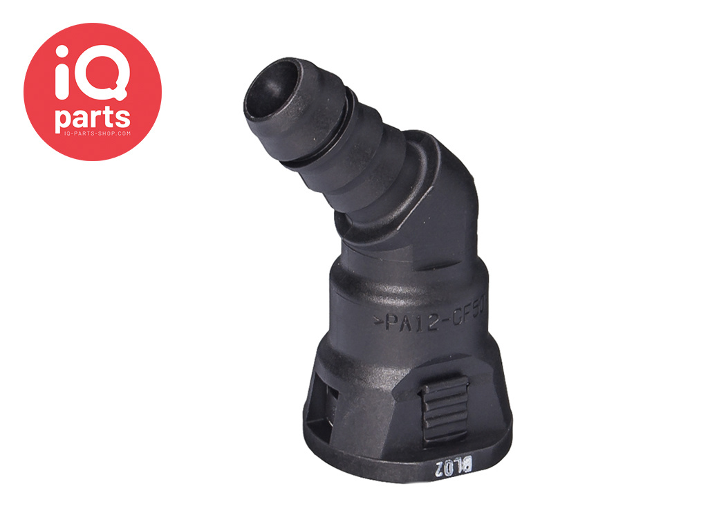 """NORMAQUICK® S Quick Connector 45° NW 1/2"""" - 10 mm"""