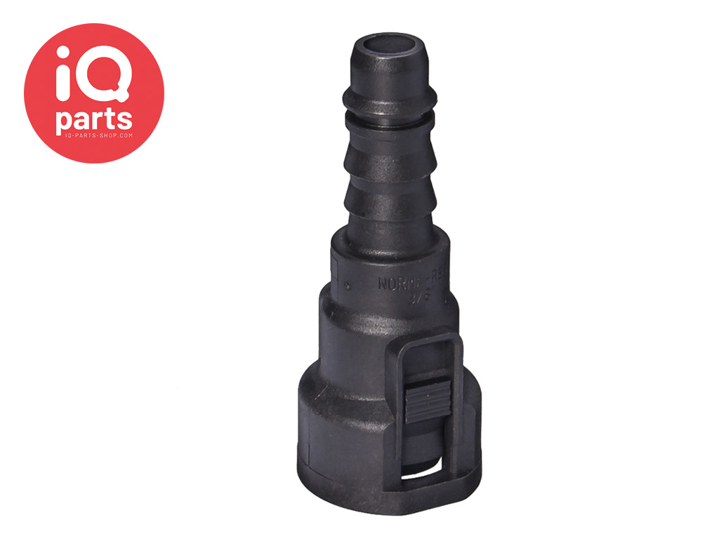 """NORMAQUICK® S straight Quick Connector 0° NW 3/8"""" - 8 mm"""