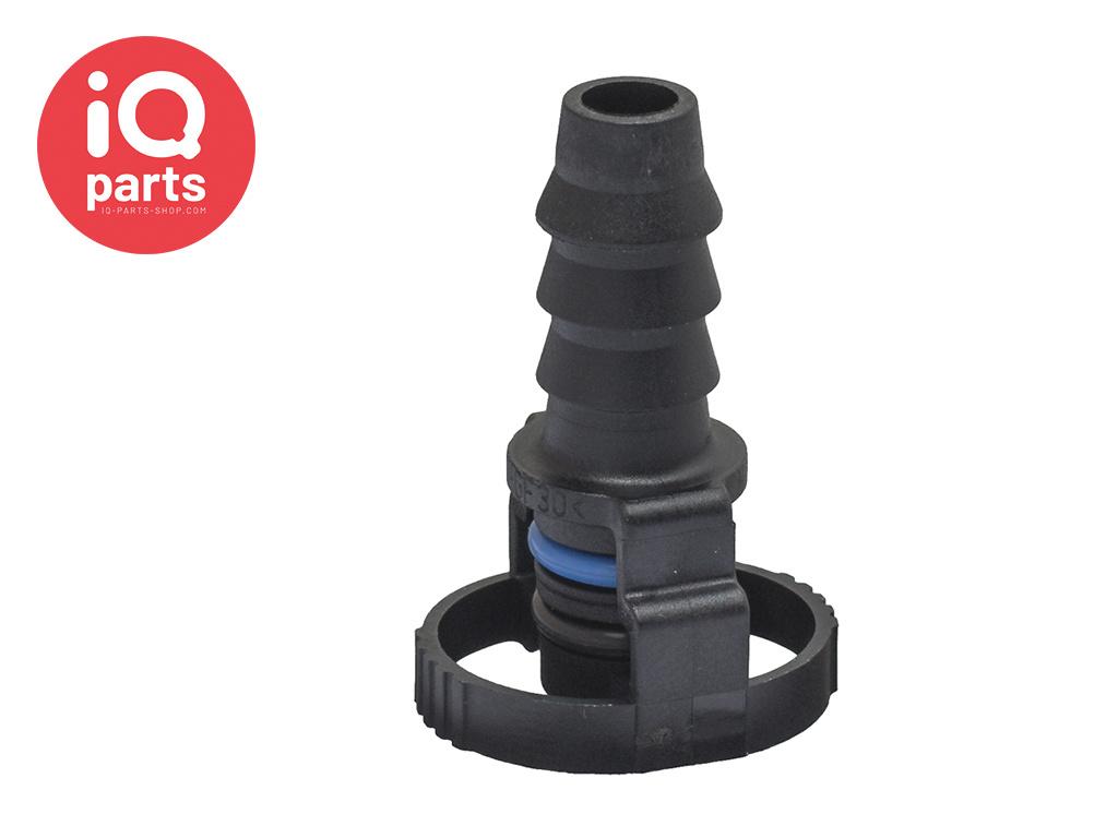 NORMAQUICK® V2 rechte Snelkoppeling 0° NW 8 - 7,7 mm