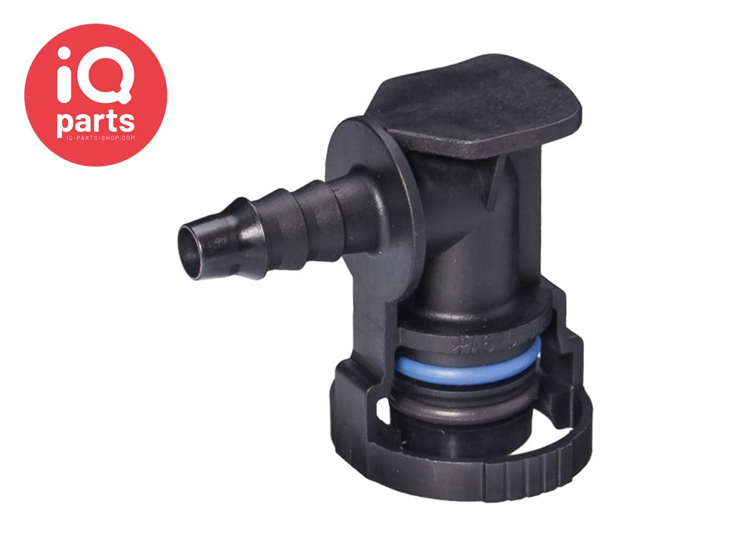 NORMAQUICK® V2 Snelkoppeling 90° NW 12 - 6 mm