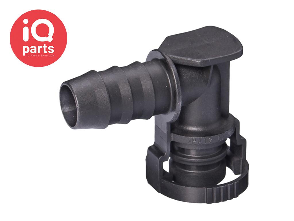NORMAQUICK® V2 Snelkoppeling 90° NW 12 - 12 mm