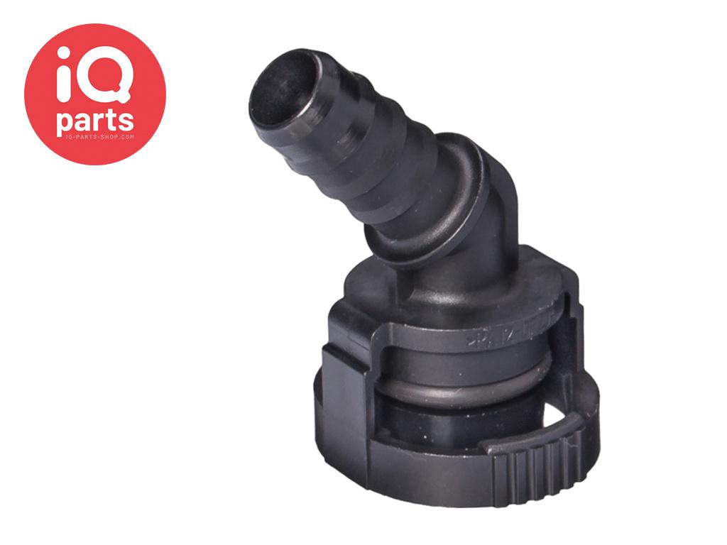 NORMAQUICK® V2 Snelkoppeling 45° NW 15 - 10 mm