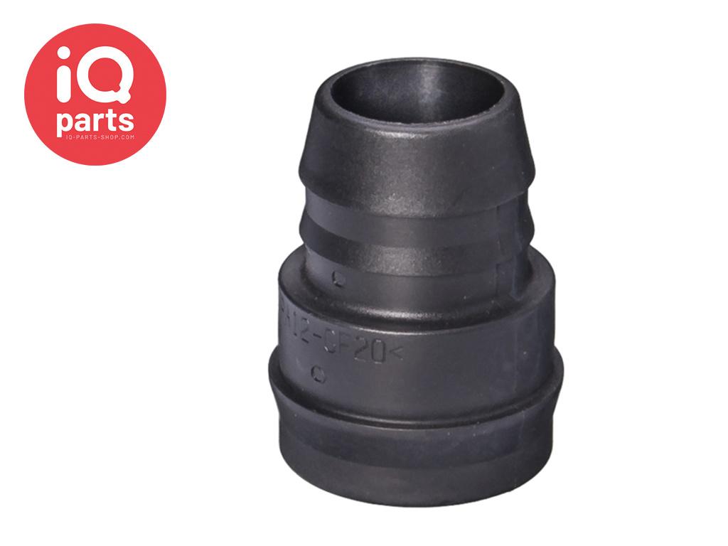 NORMAQUICK® V2 rechte Snelkoppeling 0° NW 19 - 19 mm