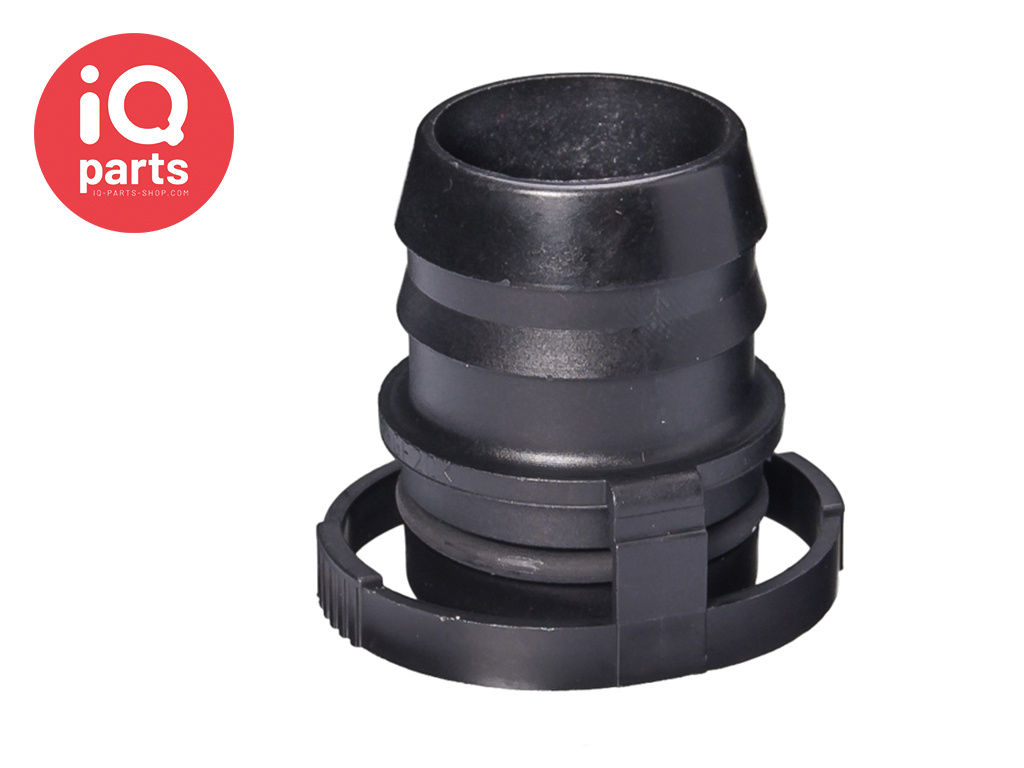 NORMAQUICK® V2 rechte Snelkoppeling 0° NW 27 - 29 mm - NBR