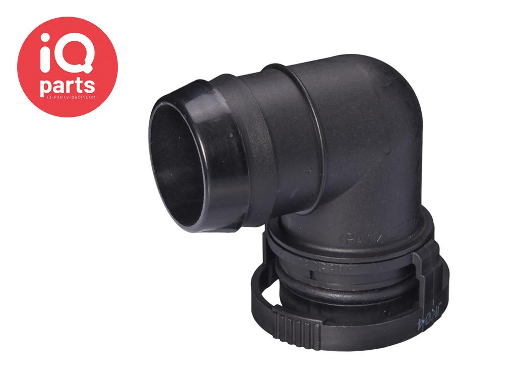 NORMAQUICK® V2 Snelkoppeling 90° NW 27 - 29 mm - NBR