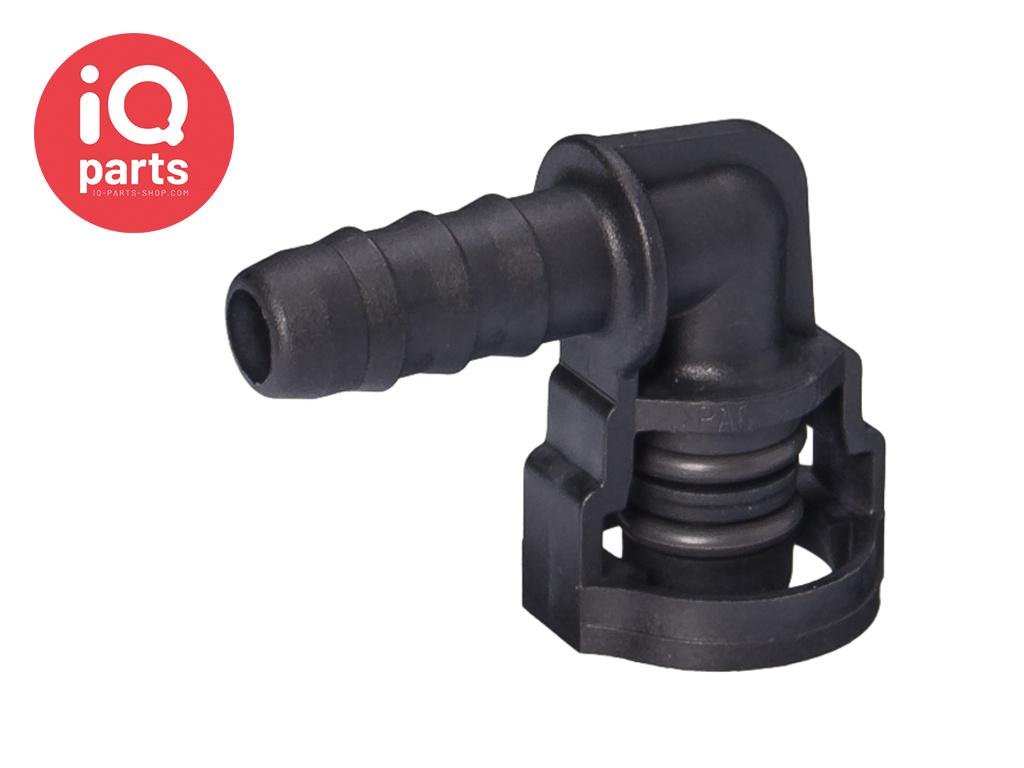 NORMAQUICK® V2 Snelkoppeling 90° NW 8 - 7,7 mm