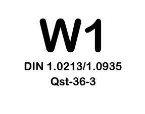 W1 Slangklemmen - (verzinkt staal)