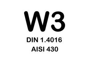 W3 Slangklemmen - (Chroomstaal 430)