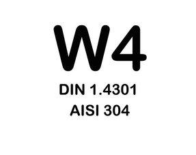 W4 Slangklemmen - (RVS304)