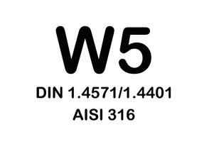 W5 Slangklemmen - (RVS316)