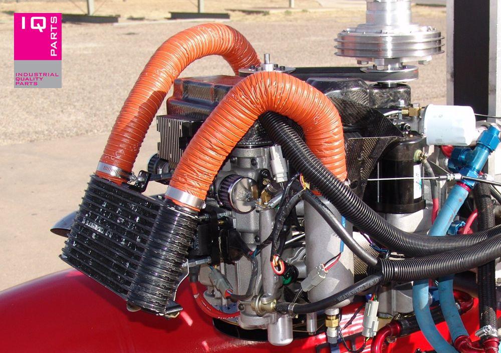 Flexadux Silicone luchtslang 2-laags