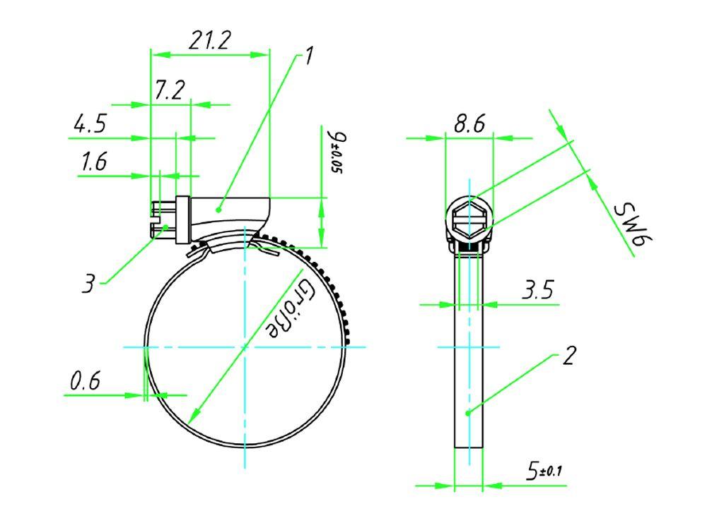 Ideal Ideal Mini 5 mm W4