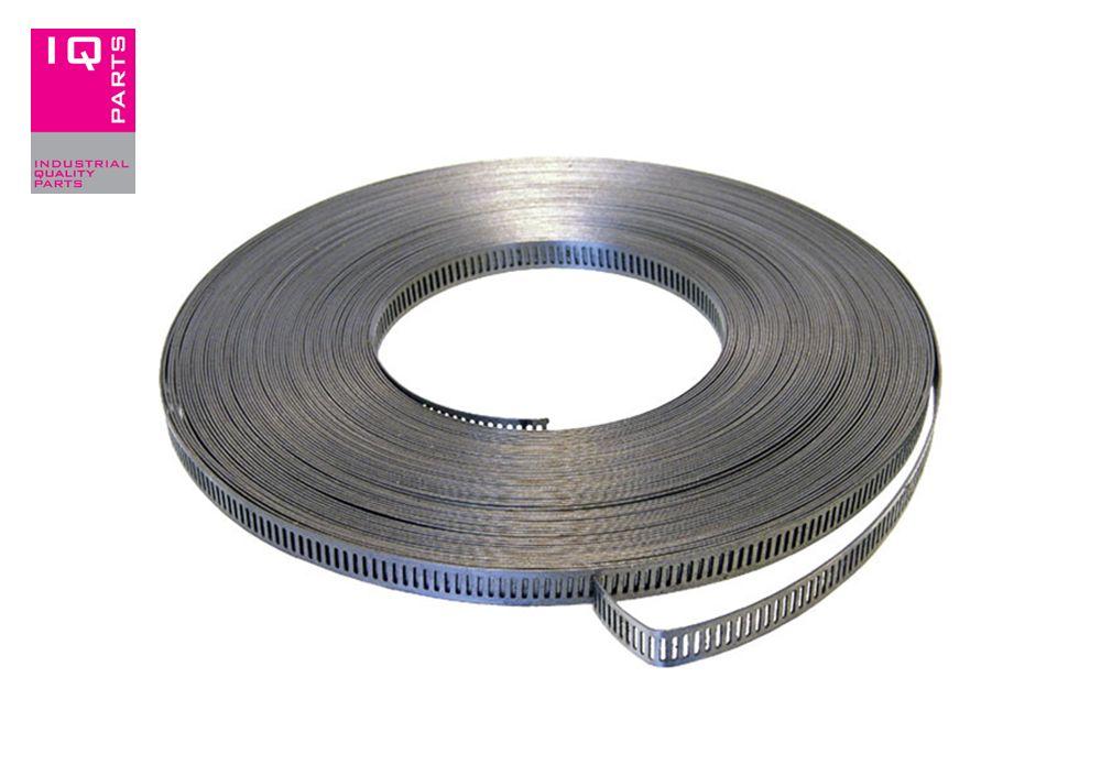 Endless hose clamp Bandwidth 8  W4 (AISI 304)