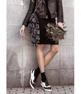MARCMARCS Cotton Pure damessokken Zwart