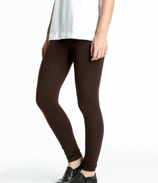Re-Legs Rose katoenen legging Donkerbruin