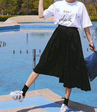 Bonnie Doon Cotton Sock zwarte damessokken