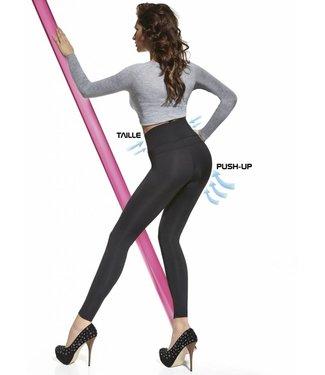 BAS BLEU Livia zwarte corrigerende legging