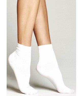 MARCMARCS 2x Cotton Ultra Fine katoenen sokken wit