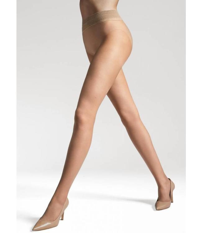 GATTA Discrete 15 panty met naadloos broekje Huidkleur