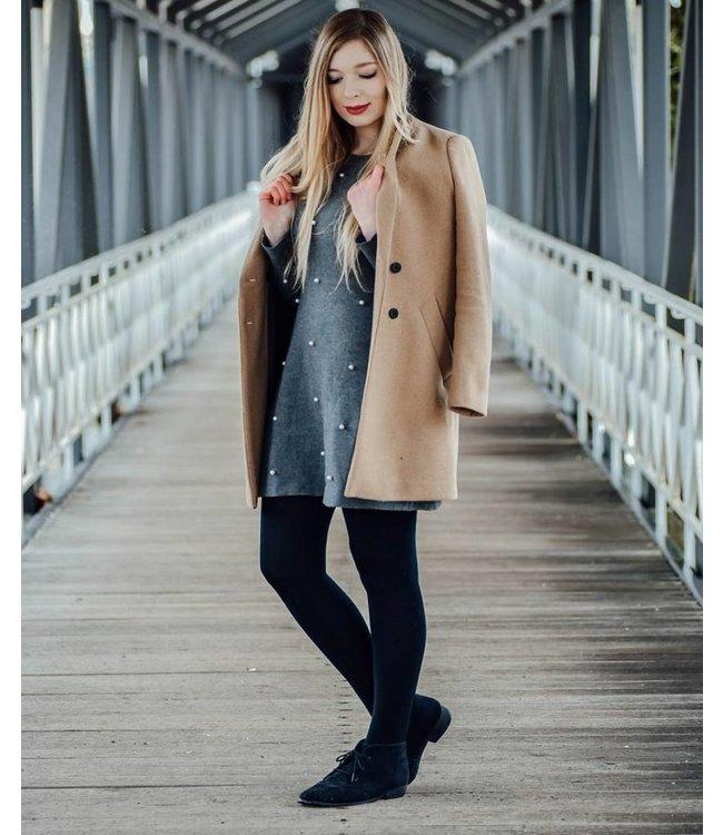 APOLLO Soft Winter gevoerde zwarte thermo panty