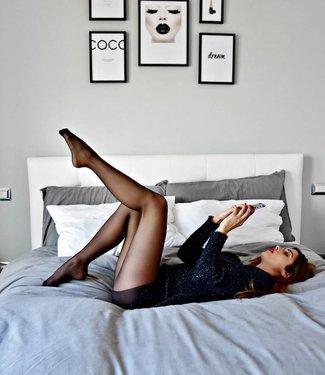 FIORE Sava 15 luxe zwarte panty