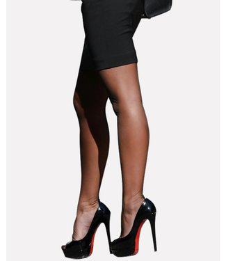 PRETTY POLLY Nylons Gloss 10 zwarte glanspanty