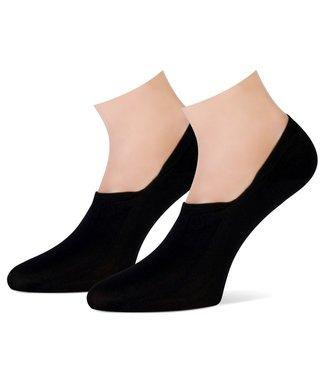 TECKEL Cotton Love sneaker-sokken | 2 PAAR