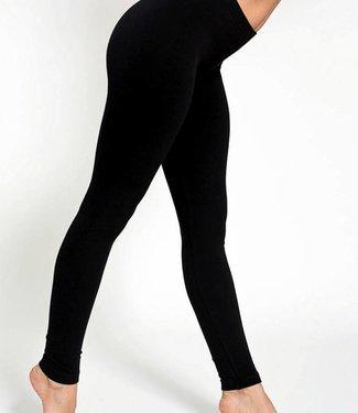 SARLINI Rose katoenen basic legging Zwart