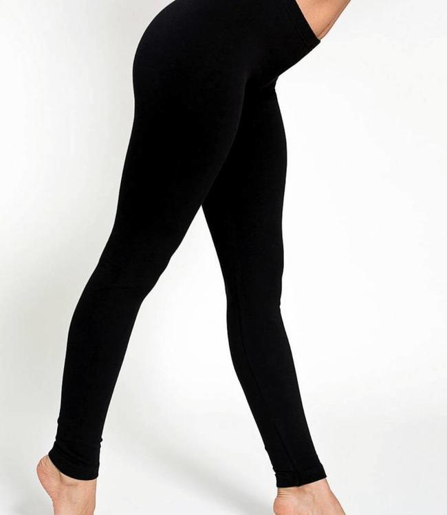 Re-Legs Rose katoenen basic legging Zwart