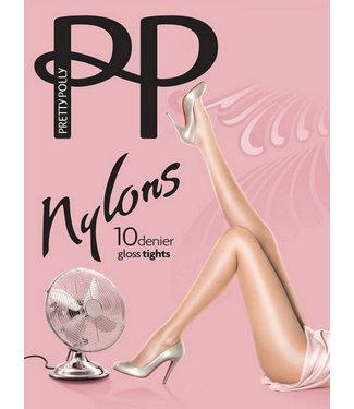 PRETTY POLLY Nylons Gloss 10 panty Sunblush